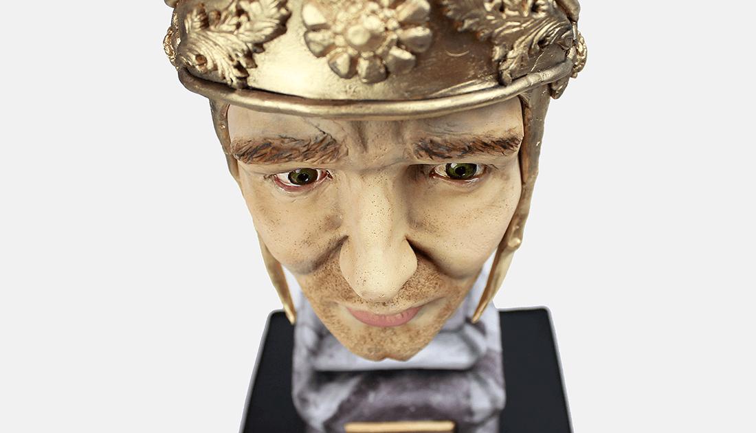 pastel-fondant-busto-romano
