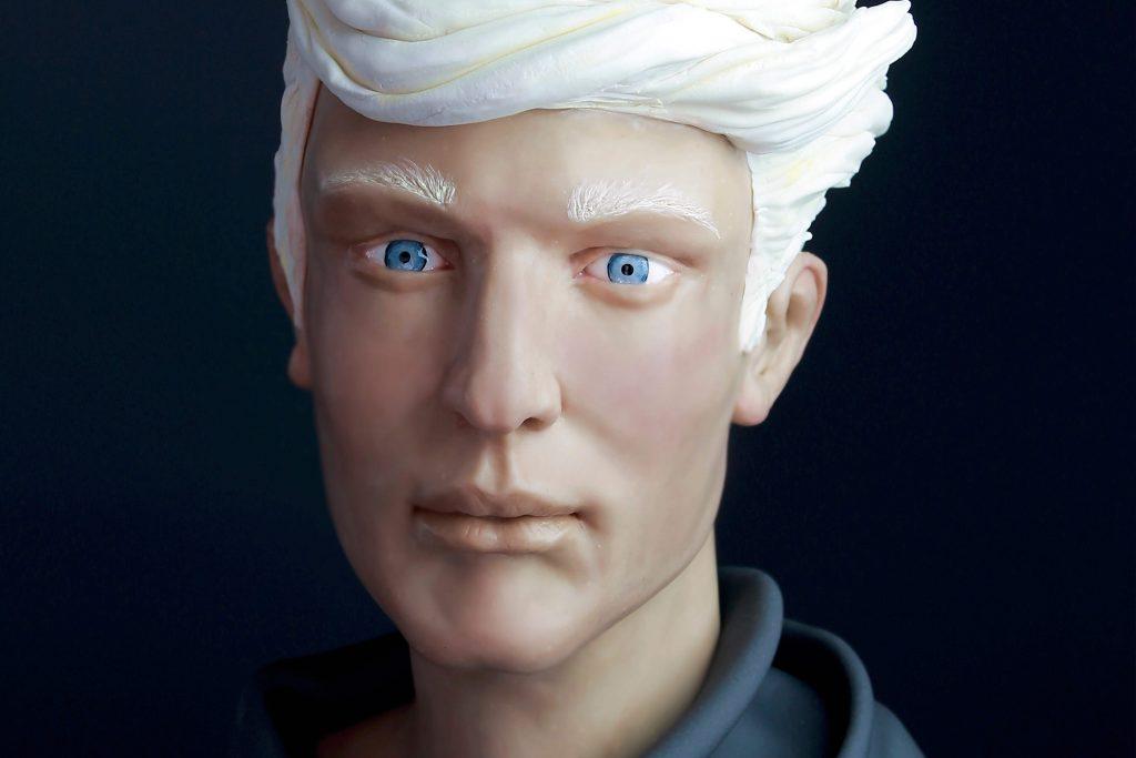 modelar-cara-humano-chocolate