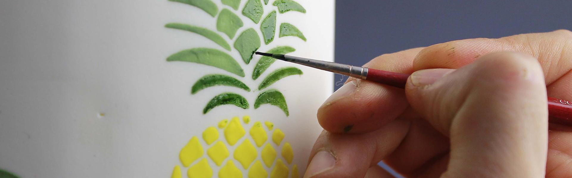 Plantillas Para Glasa Real Aprende A Utilizar Stencils En