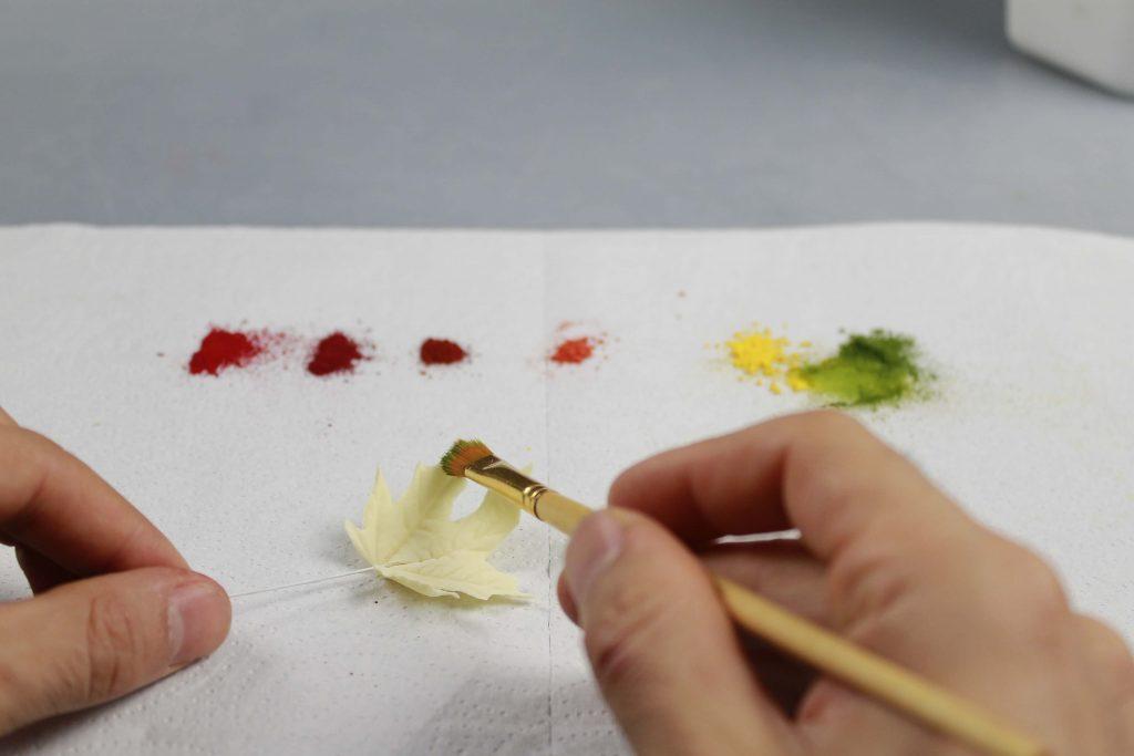 pintar-hojas-otono-azucar