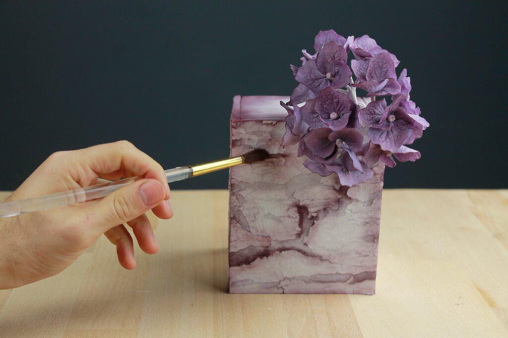 pintar-tarta-fondant-flores-azucar